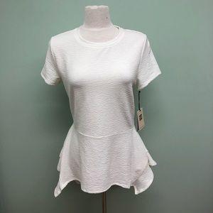 Ivanka Trump | Women's T-Shirt Blouse | White